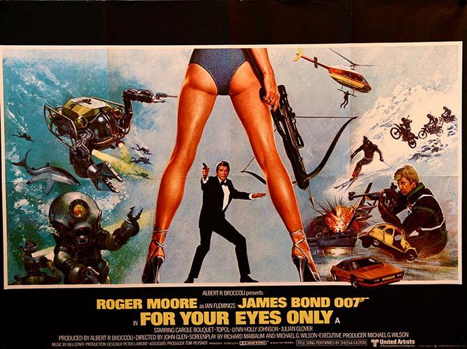 τζέιμς μποντ 007, τζέιμς μπον ταινιες, τζέιμς μποντ ηθοποιοί, 50 χρονια τζέιμς μποντ